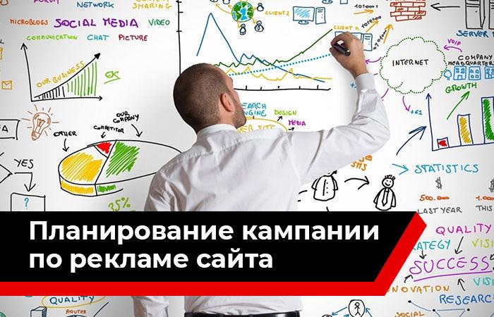 Планирование кампании по интернет-рекламе сайта