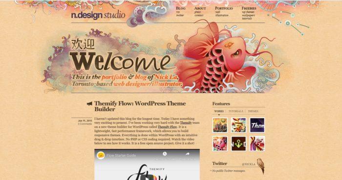 Пример на сайте Ndesign-studio