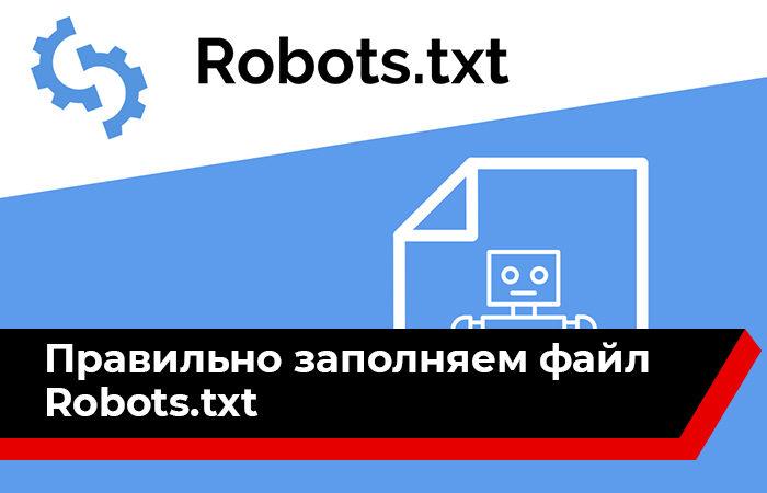 Правильно заполняем файл robots.txt