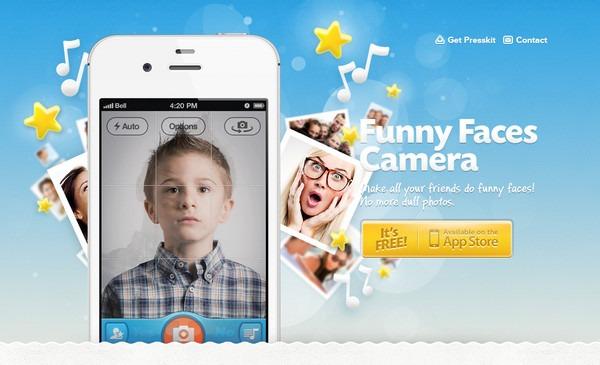 Яркий дизайн сайтов для приложений iPhone7